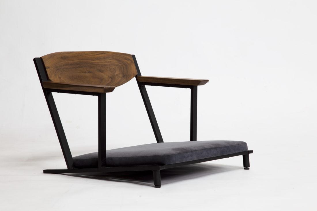 IKKE floor chair walnut|イッケ フロアチェア ウォールナット