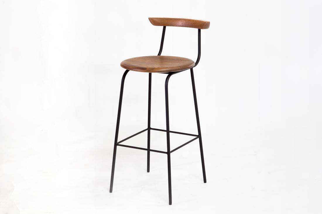 SOM bar chair walnut|ソムバーチェア ウォールナット